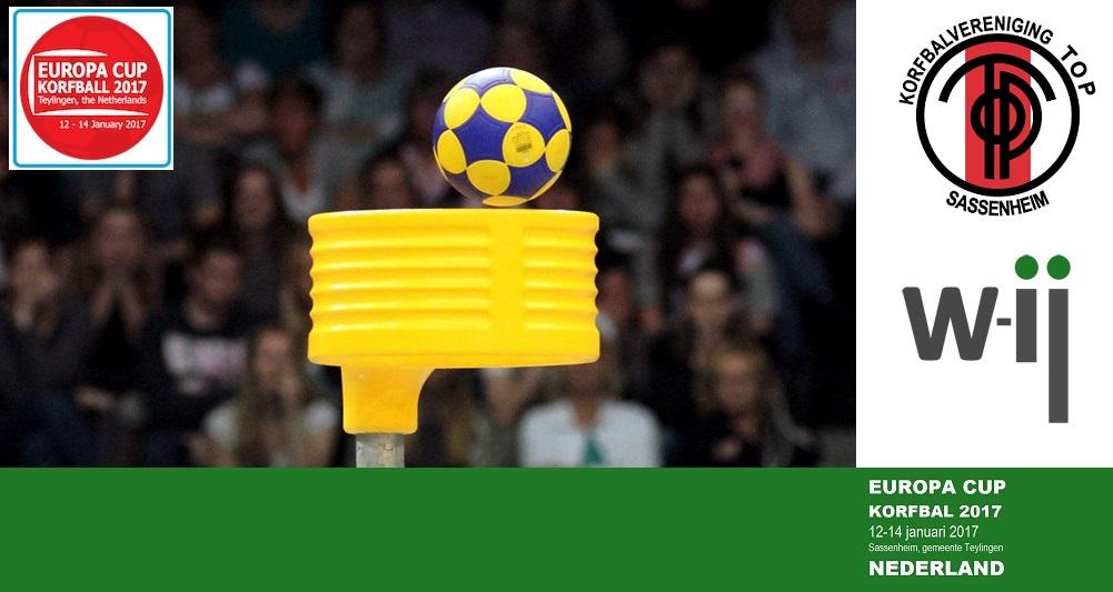 W-ij sponsor van de IKF Europa Cup Korfbal 2017